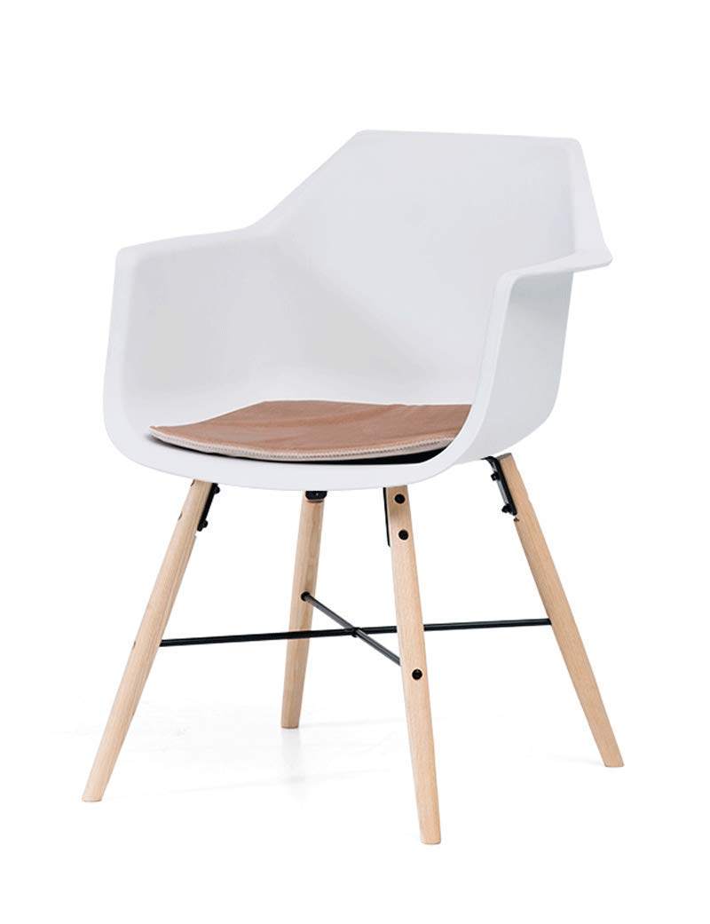 C Dining Chair Modern Minimalist Office Chair Solid Wood Chair Back Chair Home Office Chair Computer Chair (color   E)