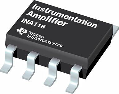 IC, Amp Instrumentación, pdip8, 118 ina118pb por TEXAS INSTRUMENTS