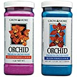 Grow More Premium Orchid Fertilizer Combo: Grow (1 Pound) and Bloom (1.25 Pounds)