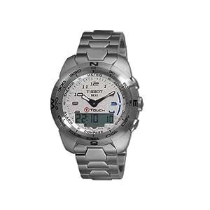 Tissot T-TOUCH Expert T0134201103200 - Reloj de caballero de cuarzo, correa de acero inoxidable color plata