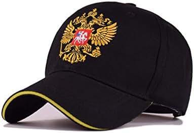 Russian Emblem hat Baseball Cap Golden Wings Outdoor Sunscreen Cap Embroidery
