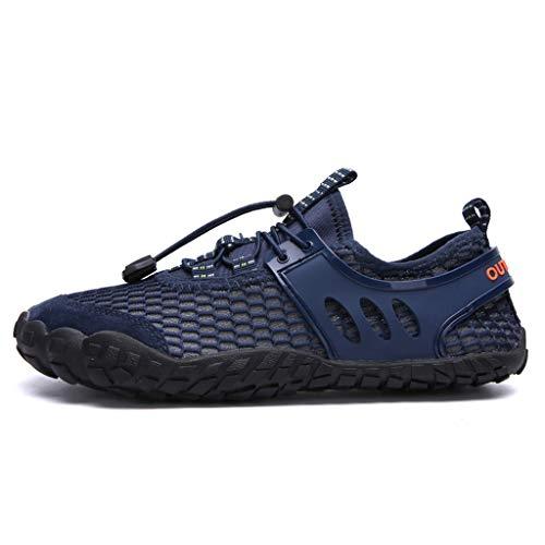 Rapido Deportes Aqua Unisex Shoes Azul Calzado Acuáticos Transpirable Eu39 Cómodo 47 Dogeek Secado 8TqwOdw