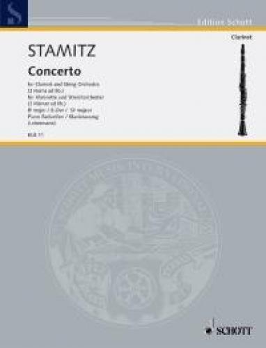 Konzert B-Dur - Klar 2 Hrn Str. Klarinette, Klavier