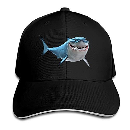 Bruce The Shark Dad Hat Peaked Trucker Hats Baseball Cap for Women Men -