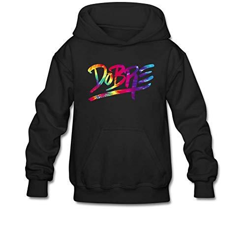 Aliensee Youth Tie Dye Dobre Brothers Hoodie Sweatshirt Suitable for 10-15yr Old M (Brother Hoodie)