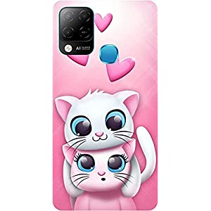Amagav Soft Silicone Printed Mobile Back Cover for Infinix Hot 10S -Design142