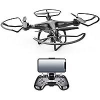 x8 2.4G RC Quadcopter Electricity Adjustment 720P HD Camera RC Drone FPV Gift (black, 1Set)