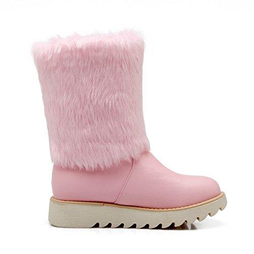 Nieve De 1to9 Mujer Botas Rosa 4AwPqZx