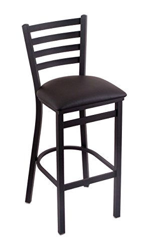 41nx7qGikAL - Holland-Bar-Stool-Co-400-Jackie-25-Counter-Stool-with-Black-Wrinkle-Finish-Allante-Espresso