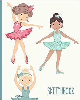 Sketchbook Blank Ballet Dancer Journal For Creativity Drawing Sketching And Doodling Ballerina Illustration Cover Design Mila And Agnes Modern Notebooks 9781679103186 Amazon Com Books