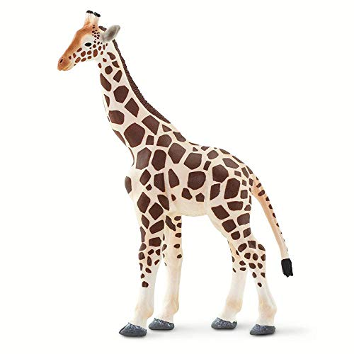 Safari Ltd. Wild Safari Wildlife - Giraffe - Quality Construction from Phthalate, Lead and BPA Free Materials - for Ages 3 and Up
