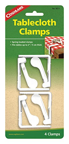 Coghlan's Spring Loaded Tablecloth Clamps
