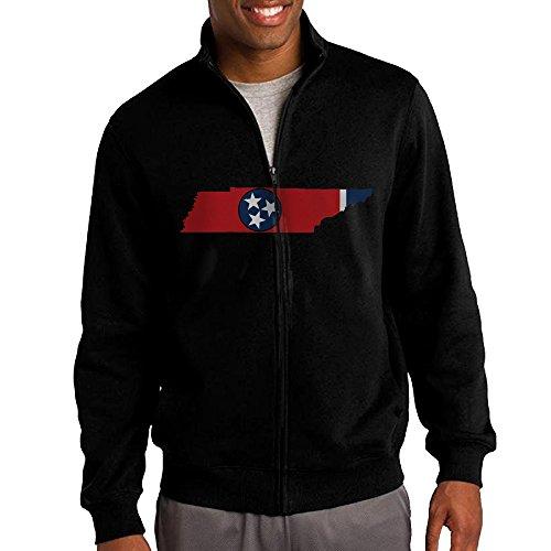 Mens-Flag-Map-Of-Tennessee-Full-Zip-Fleece-Jacket