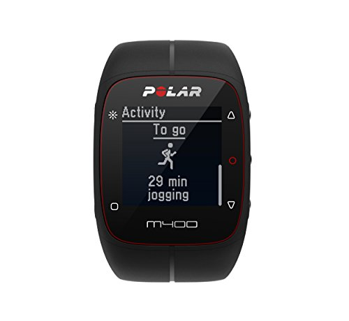 Polar M400 GPS Smart Sports Watch and Fitness Tracker (Black) by Polar (Image #4)