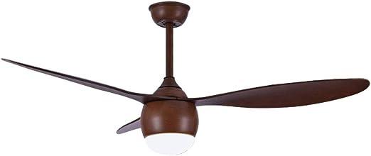 Ventilador techo Con Luz Lampara Y Mando A Distancia Luz Variable ...
