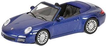 Minichamps - Porsche 911 Carrera 4s Cabrio08, azul metalizado