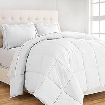Amazon.com: Premium Box Stitched All Season Down Alternative Twin ... : twin extra long quilt - Adamdwight.com