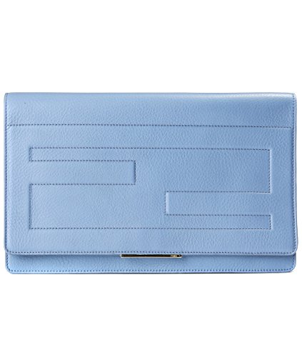 Fendi-Womens-Flap-Real-Leather-Clutch-Bag