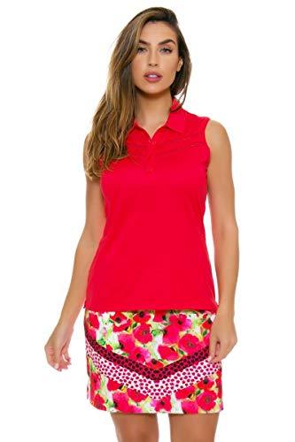 EP Pro NY Women's Poppy Fields Bouquet Print Golf Skort 18