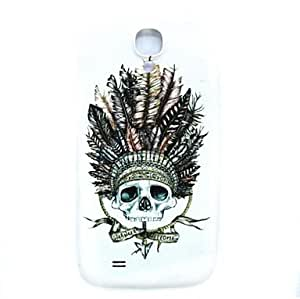 LZX Skull Pattern Thin Hard Case Cover for Samsung Galaxy S4 I9500