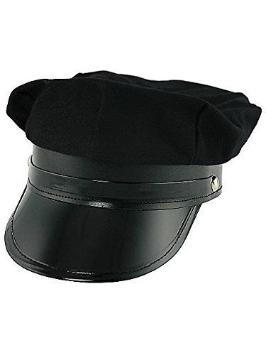 Black Cotton Chauffeur Cap Model: ()
