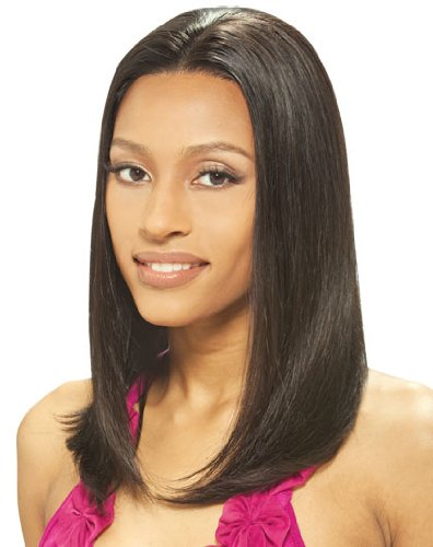 100% Indian Remy Full Lace GAURI Wig by Janet Collection Color FS1B/33