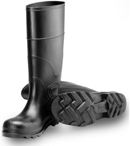 Tingley Rubber 31144 15-Inch Knee Boot, Size 8, Black (Discontinued by Manufacturer)