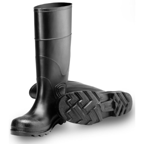 TINGLEY Rubber 31144 15-Inch Knee Boot, Size 10, Black