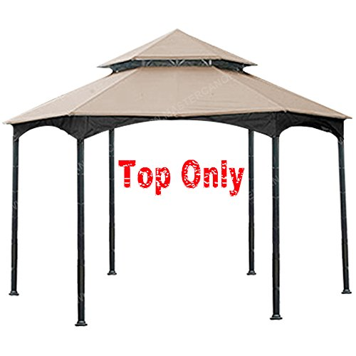MASTERCANOPY Gazebo Replacement Canopy for Outdoor Gazebo (Beige) For Sale