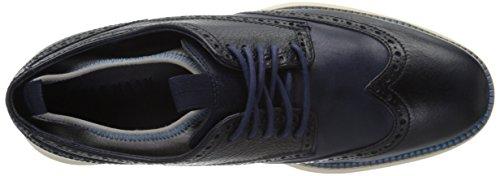 Cole Haan Hommes Grande Aile Boeuf Nouveauté Chaussette P113905 Oxford Marine Bleu / Ultra Bleu