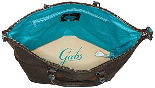 GabsG3 - Borsa a mano Donna Marrone (Fmt)