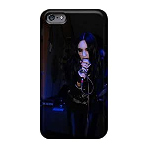 Scratch Protection Cell-phone Hard Cover For Iphone 6plus (LHf15525edcO) Support Personal Customs Lifelike Coal Chamber Band Skin