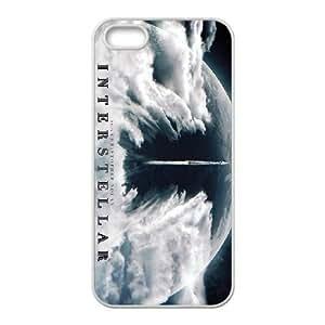 INTERESTELAR 3 para funda iPhone 5 5s funda del teléfono celular de cubierta blanca
