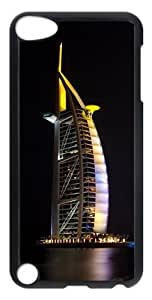 Dubai Jumeirah Beach Polycarbonate Hard Case Cover for iPod Touch 5 - Transparent
