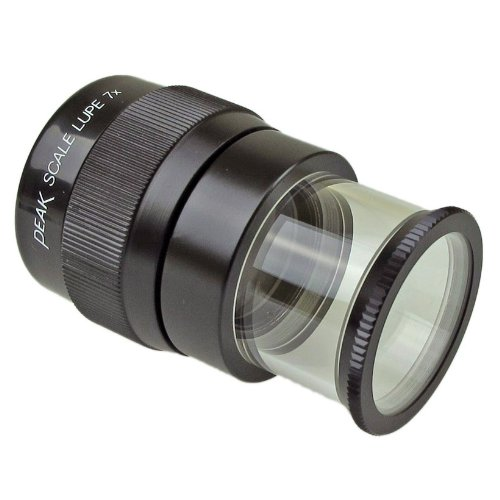 (PEAK TS1975 Full Focus Scale Loupe, 7X Magnification, 0.71
