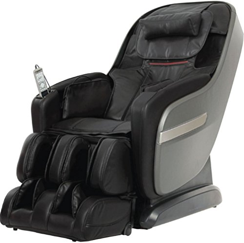 Titan TPPROALPINEA Model TP-Pro Alpine Massage Chair in Black, L-Track Massage Function, Zero...