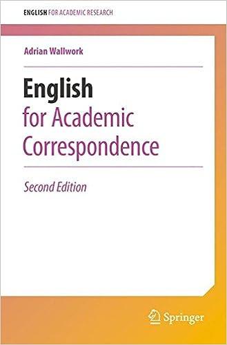 amazon english for academic correspondence english for academic