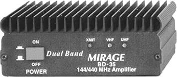 Bd-35 Mirage 2m/70cm Dualband Amplifier 45/35w 12v: Amazon co uk