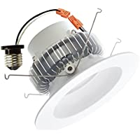 LUXRITE 6 Downlight 15W 5000K Flood Retrofit LED Light Bulb by Luxrite