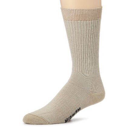 Wigwam Mens Everyday Fusion Sock, Sand, X-Large (Wigwam Everyday Fusion)