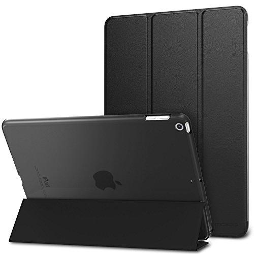 Moca Slim, Lightweight Apple iPad 9.7 inch PU Leather Folio Flip Cover  Black