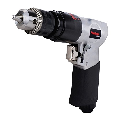 Reversible Air Drill Tool - PowRyte 3/8-Inch Reversible Air Drill
