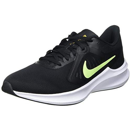 chollos oferta descuentos barato NIKE Downshifter 10 Zapatillas Hombre Black Volt Glow University Gold White 38 5 EU