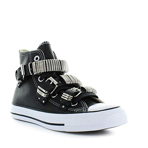 Hi Mod Black Nero 162891c Ltd Converse Donna Leather Ctas Ginnica 8wqTzYE