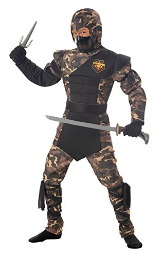 Special Ops Ninja Childrens Costumes (Special Ops Ninja Child Costume (Large))