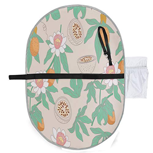 (Changing Pad Passion Fruit Art Baby Diaper Urine Pad Mat Cool Kids Mattress Cover Sheet for Any Places for Home Travel Bed Play Stroller Crib Car)