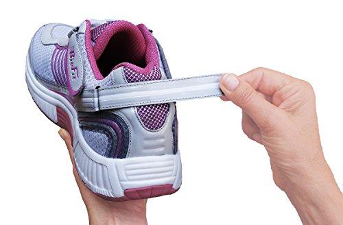 Ortofette Verve Comfort Ampie Scarpe Da Ginnastica Ortopediche Per Donne Diabetiche Fucsia