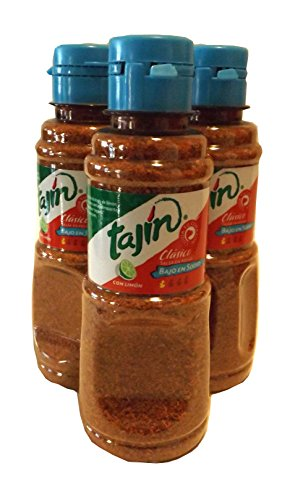Tajin Classico Bajo En Sodio Con Limon 5 Oz. Seasoning (Pack of 3) by Tajin