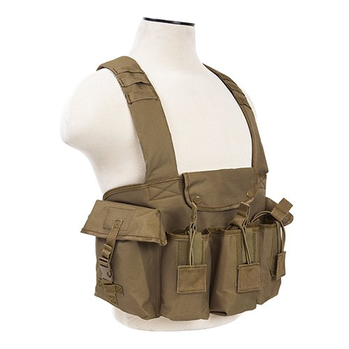VISM by NcStar AK Chest Rig (CVAKCR2921T), Tan