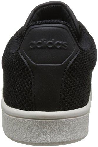 Advantage Cloudfoam adidas Core Black White Core Homme Chalk Baskets Chalk Clean Noir Black Black White Black Core Core p5qndAqw